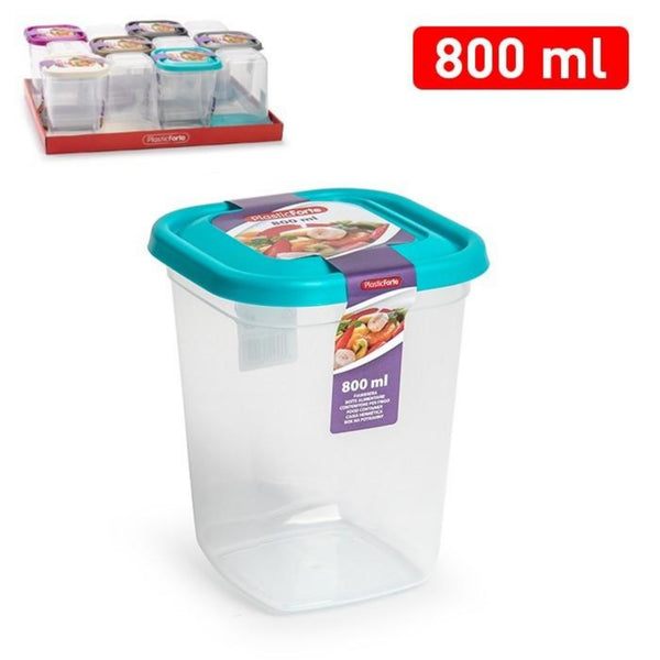 800ml Plastic Box Dry Food Cereal Pasta Storage Container