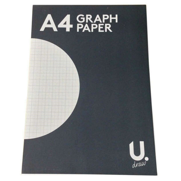 2mm A4 Graph Paper Notepad