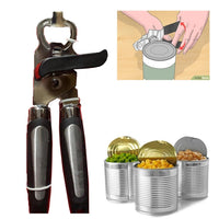 Stainless Steel Tin Can Bottle Opener