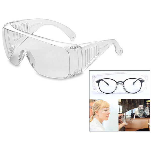 Safety Clear Goggles Anti Fog Medical Protective Eyewear