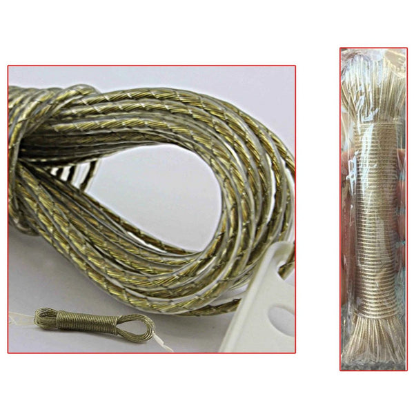 20M Metal Core Linen for Clothes Drying
