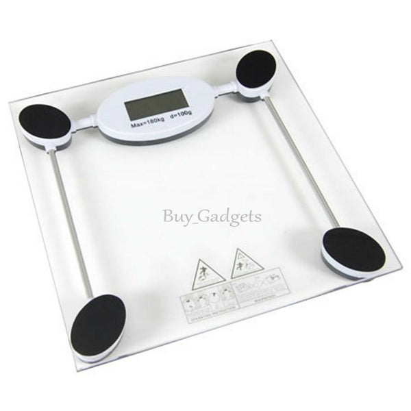 180kg Digital Electronic Glass Lcd Weighing Scales