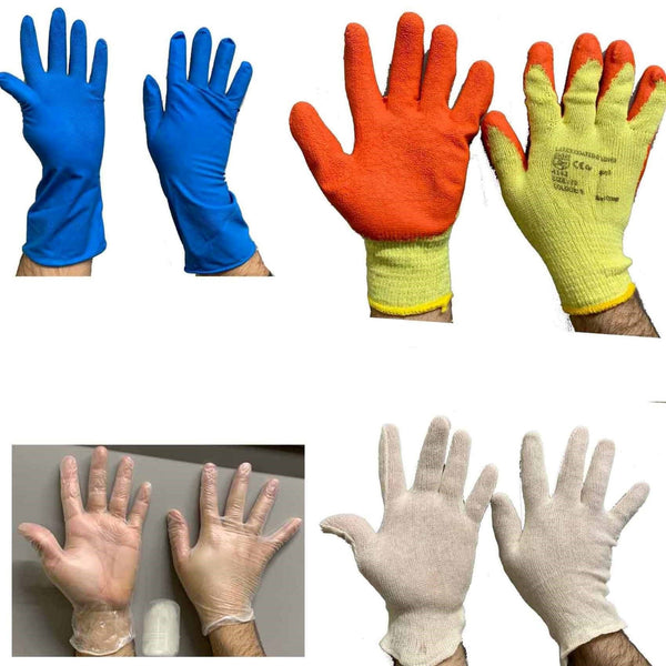 Dish Washing Latex Coated Work Gloves