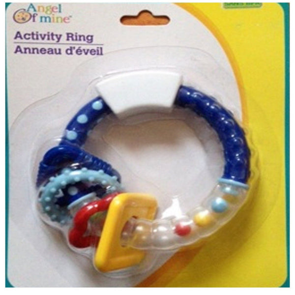 Angel Of Mine Activity Ring Teether For Kids/Baby