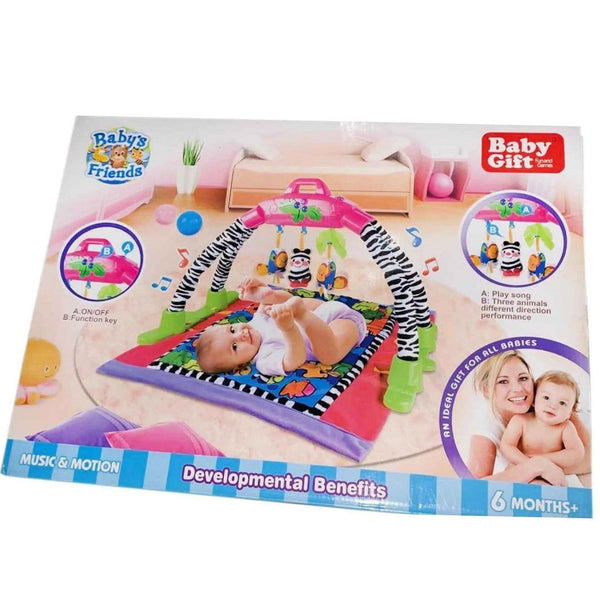 Newborn Baby Musical Activity Lay Playmat Soft Arch