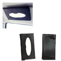 Car Sun Visor Tissue Box CD Card Case