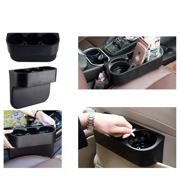 Black Cup Holder Car Storage Universal Stand
