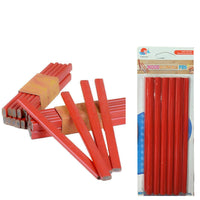 12 x Carpenters Pencils For Wood Works