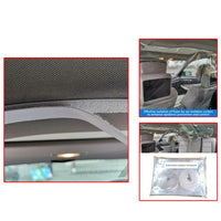 Cab Taxi Driver Protector Screen Isolation Film