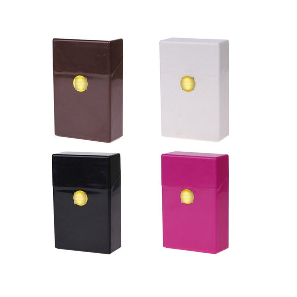 Plastic Cigarette Case Box 20 Cigarettes King Size