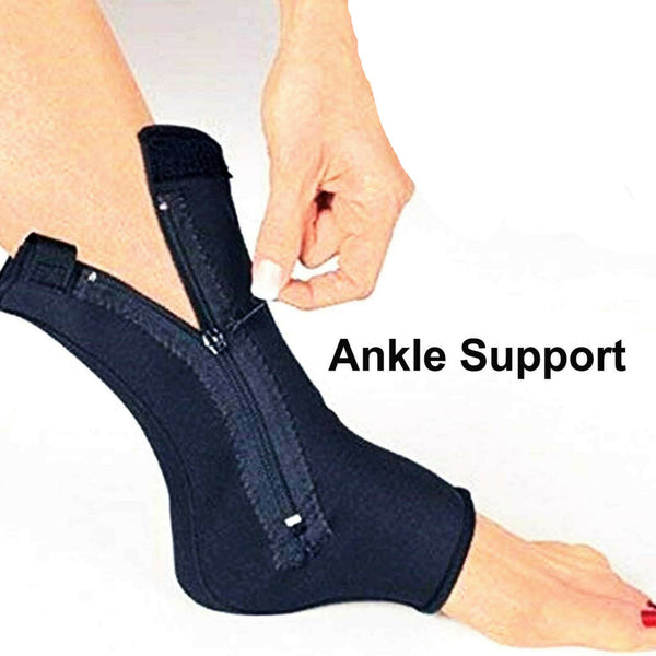 Compression Zippered Ankle Support Neoprene