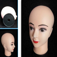 "11"" Tall Professional Female Mannequin Head"