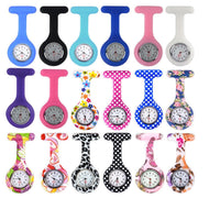 Silicone Beauty Nurse Fob Watch