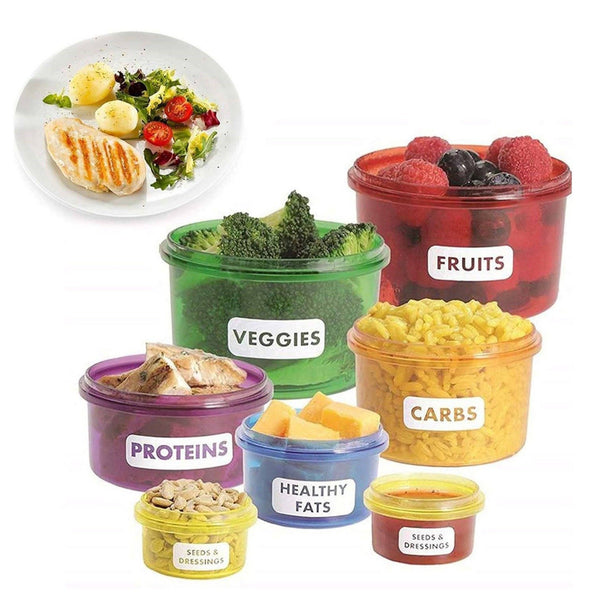 Healthy Eating Portion Control Containers