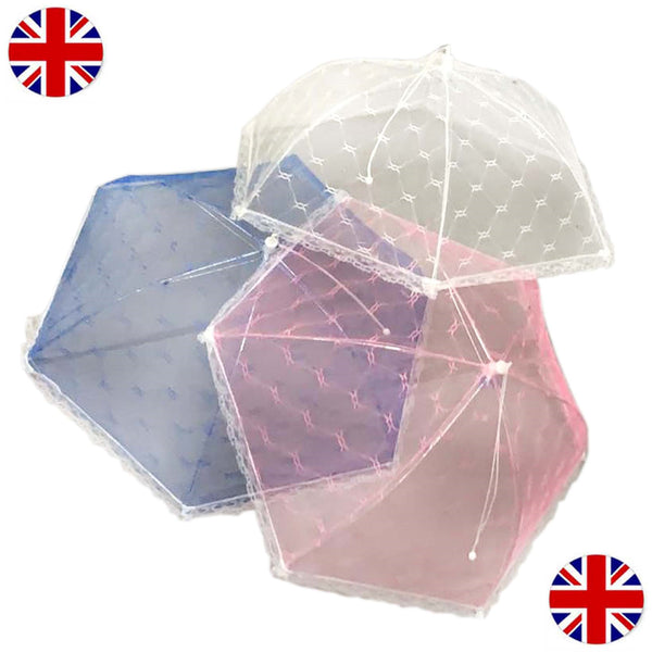Giant Food Umbrella Cover Net Mesh Picnic Outdoor Camp Bugs Insect Protection
