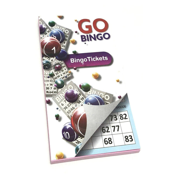 Gingo Game Bingo 450 Tickets Go 6 Tickets Per Page