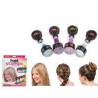 Hot Stamp Hair Styling Glitter Fashion