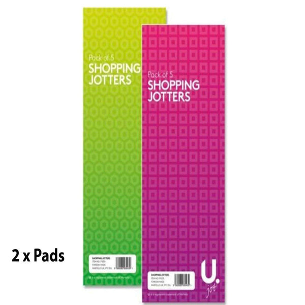 2 x Shopping List Jotters Pads