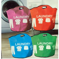 Laundry Bag Basket Foldable Storage Bin