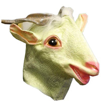 Latex Sheep Mask Fancy Dress Rubber