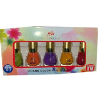 Thermal Glitter Color Changing Nail Polish Gel HD