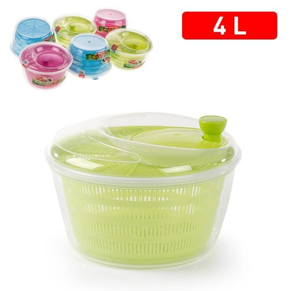 Plastic Large Salad Spinner Leaf Dryer