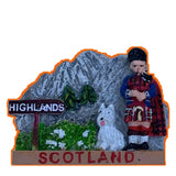 Scotland Fridge Magnet Pen Souvenir Gift