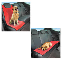 Pet Protector & Waterproof Car Back Seat Cover