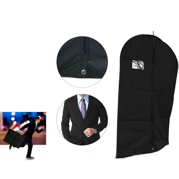 Black 40 Inch Showerproof Zip Suit Protector Bag