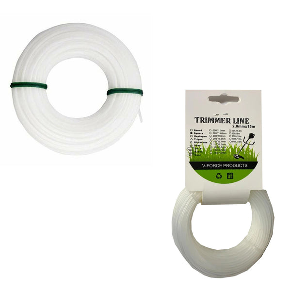 Trimmer Line Grass Cutter Nylon Rope 2.0mm x 15m
