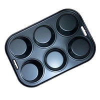 6 Cup Muffin Cake Pan Baking Tray