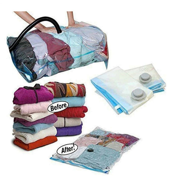 6 x Large Vaccum Compressed Storage Bags