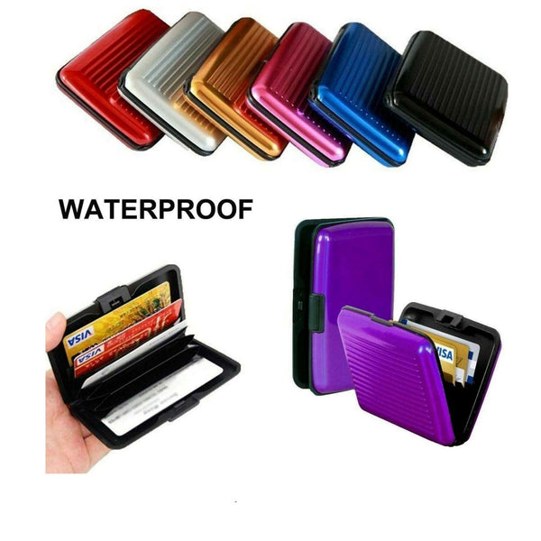 Waterproof ID Credit Card Wallet Hard Case