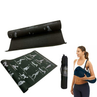 173 x 61cm Thick Yoga Mat Gym