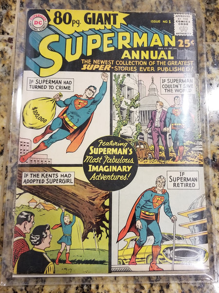80 Page Giant #1 - Superman! - VG/F
