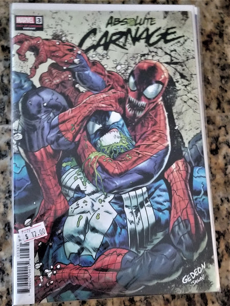 Absolute Carnage #3 - Cult of Carnage 1:25 Variant!