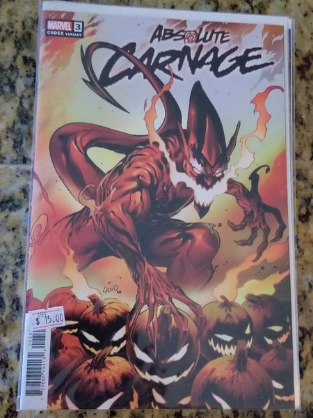 Absolute Carnage - Codex 1:25 Variant! NM