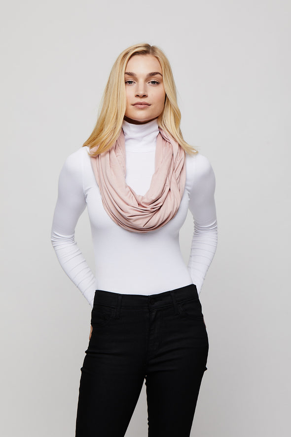 Blush Sleeper Scarf deflated