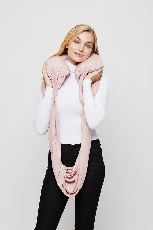 Blush Sleeper Scarf inflated