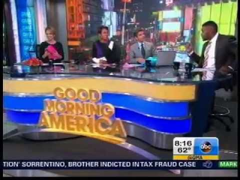 Sleeper Scarf on Good Morning America