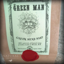Load image into Gallery viewer, Green Man Soap