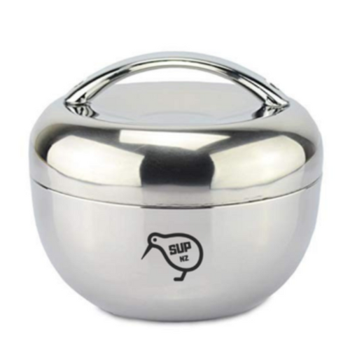 Stainles Steel Bowl 1L with Lid