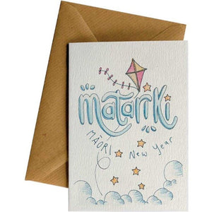 Matariki Kite - New Years Card