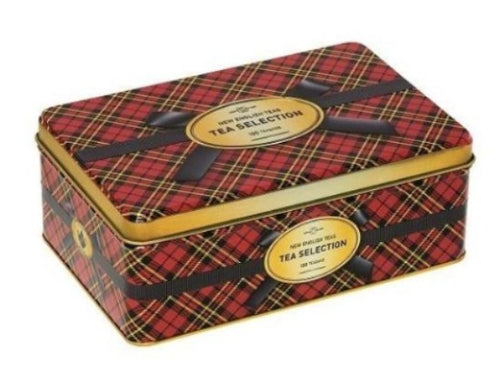 Tea Traditional Tartan 100 Bag Tin