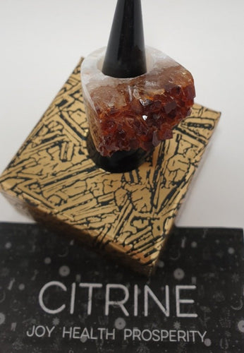 Citrine Ring US Size 6 1/2
