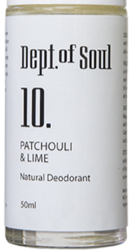 Patchouli & Lime Roll-on Deodorant