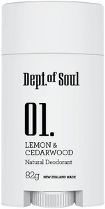 No 01. Lime & Cedarwood Deodorant
