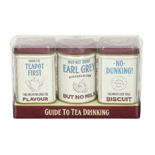 Load image into Gallery viewer, Tea Guide to Tea Drinking Mini Tin Set x3
