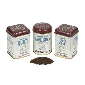 Tea Guide to Tea Drinking Mini Tin Set x3