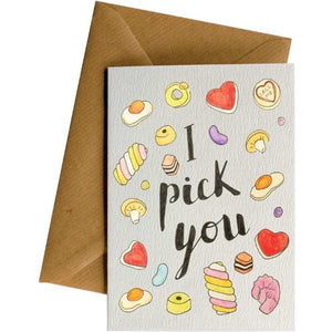 I Pick You - Love Card